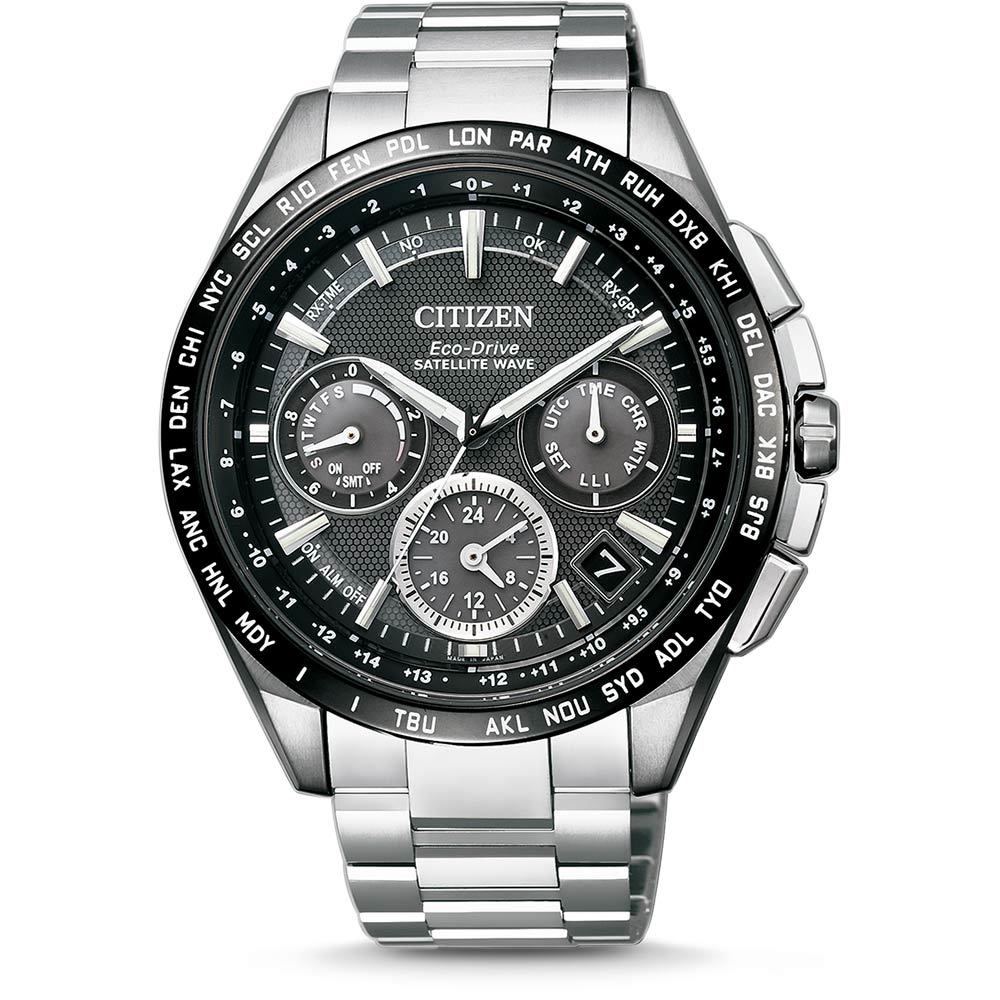 CITIZEN - SATELLITE WAVE  Eco-drive - CC9015-54E