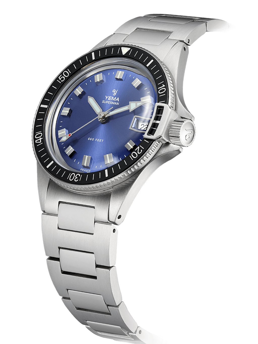 YEMA Superman Heritage Blue - 39 mm