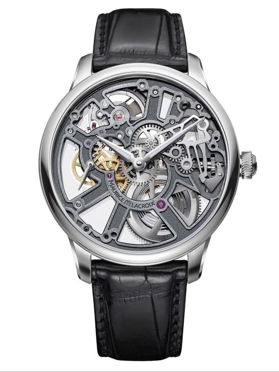 MASTERPIECE SKELETON  43mm - MP7228-SS001-003-1