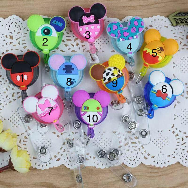 Cute Character Reels/badge holders