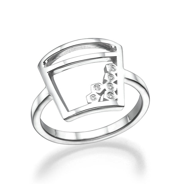 Ice Bucket Ring - Must Jewelry