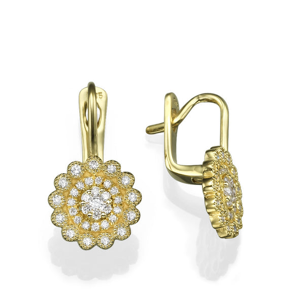 Eila Flower Earrings - Must Jewelry