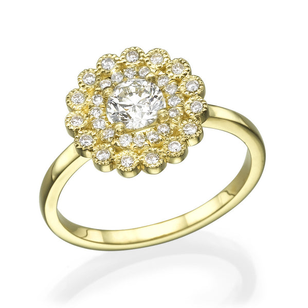 Eila Flower Ring - Must Jewelry