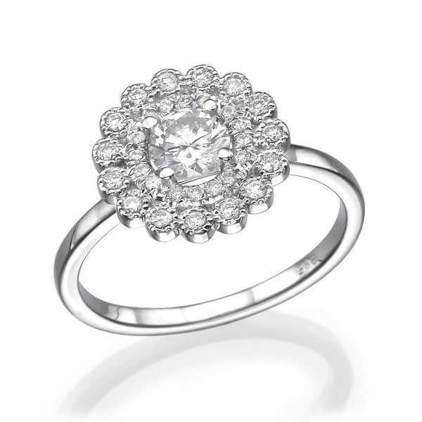 Gracelyn Flower Ring - Must Jewelry