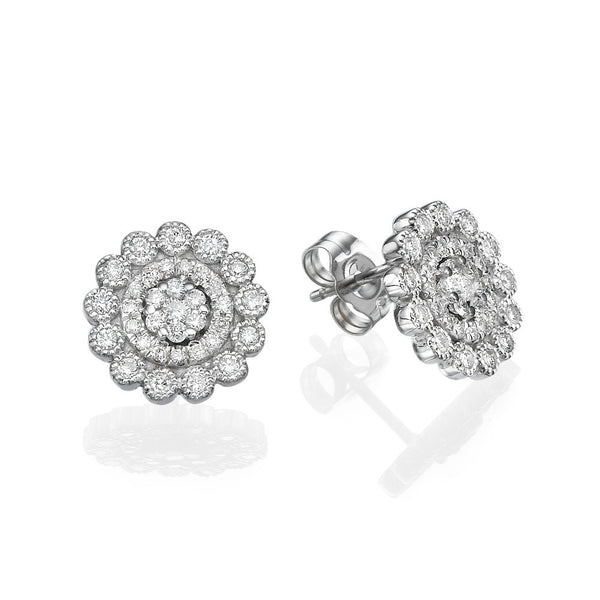 Gracelyn Flower Earrings - Must Jewelry