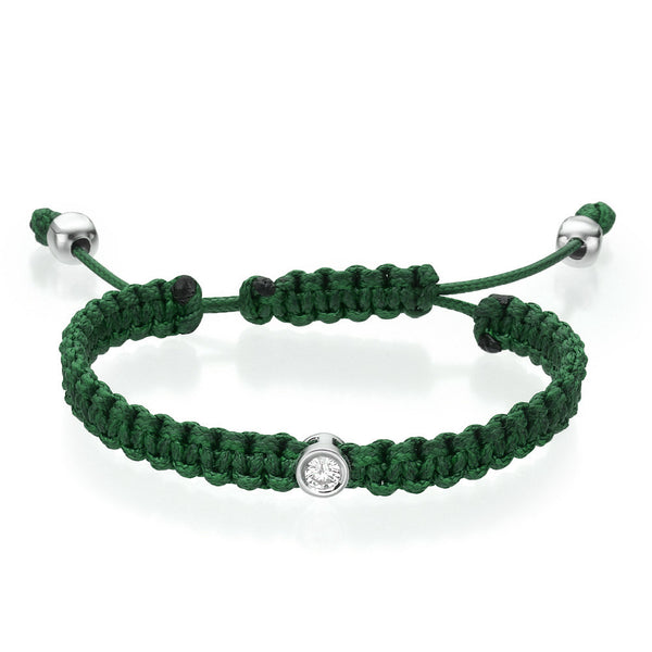 Must Jewelry Green Diamond Bracelet
