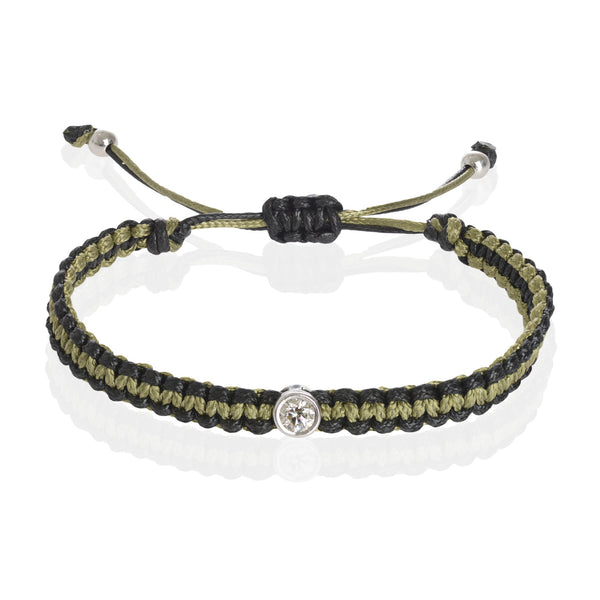 Must Bracelet - Double Olive Black
