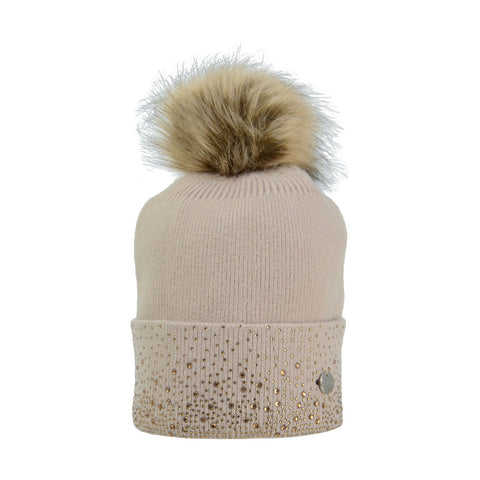 Hy Equestrian Alaska Diamante Bobble Hat