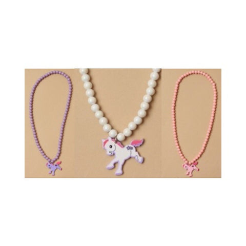 Molly & Rose Stretch Necklace with Pony Charm