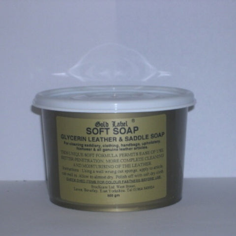 Gold Label Soft Soap - 500g