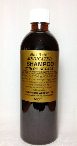 Gold Label Medicated Shampoo - 500ml