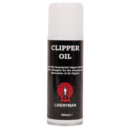 Liveryman Clipper Oil Spray - 200ml Aerosol