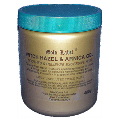 Gold Label Witch Hazel & Arnica Gel - 400g