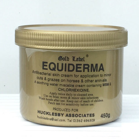 Gold Label Equiderma 450gm