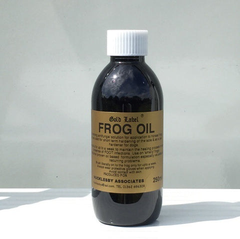 Gold Label Frog Oil - 250ml