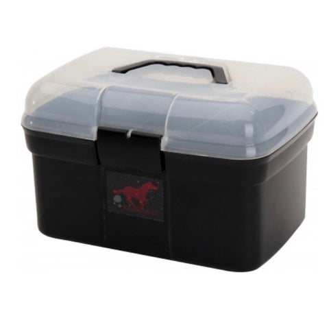 Red Horse Grooming Box and Brushes