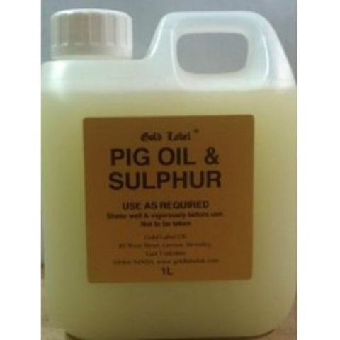 Pig Oil and Sulphur