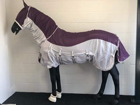Combo Fly Rug with Mask