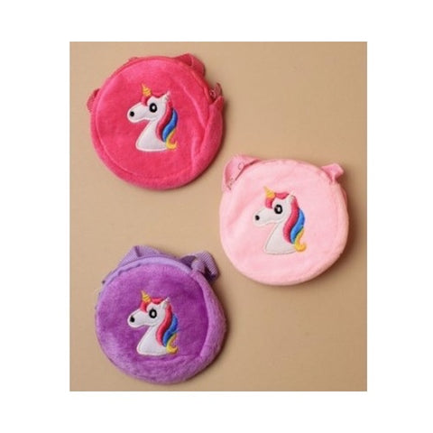 Molly & Rose Round Unicorn Purse