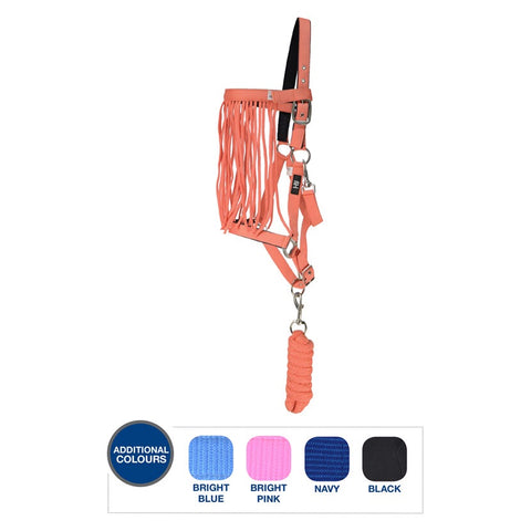 Hy Head Collar, Lead Rope & Fly Veil Set