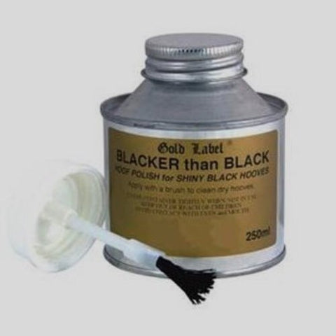Gold Label Blacker than Black 250ml