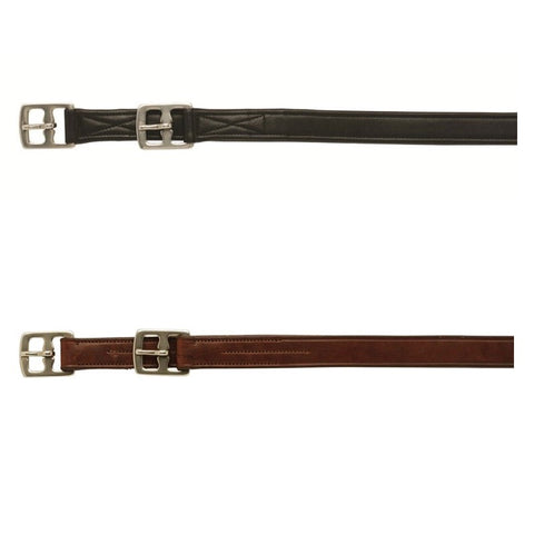 Brown Gallop Reinforced Stirrup Leathers