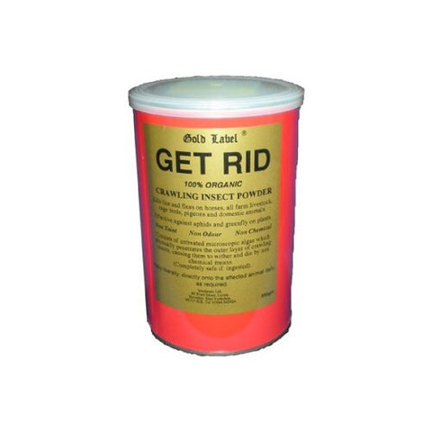 Gold Label 'Get Rid' Insect Powder - 350g