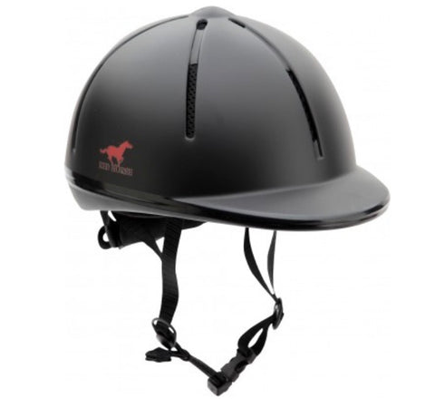 Red Horse Riding Helmet