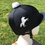 Lycra Hat Cover with Glitter Unicorn