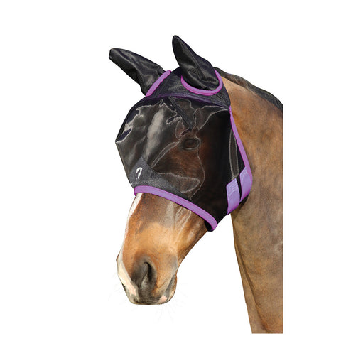 Hy Equestrian Mesh Half Fly Mask with Ears