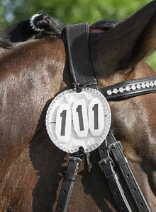 USG Bridle Numbers Round Bling