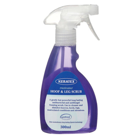 Keratex Medicated Hoof & Leg Scrub 300ml
