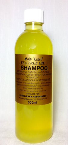 Gold Label Tea Tree Oil Shampoo - 500ml
