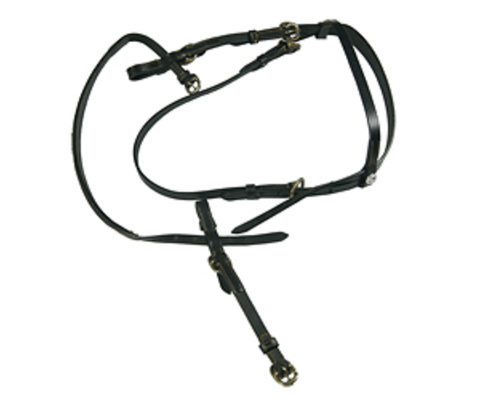 ProTack Bridle In Hand Full Black