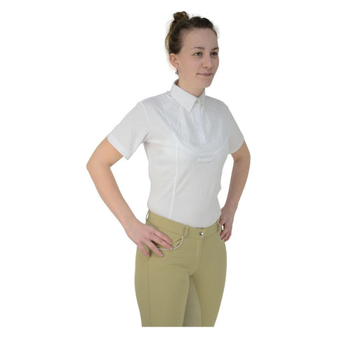 HyFASHION Ladies Tilbury Short Sleeved Tie Shirt