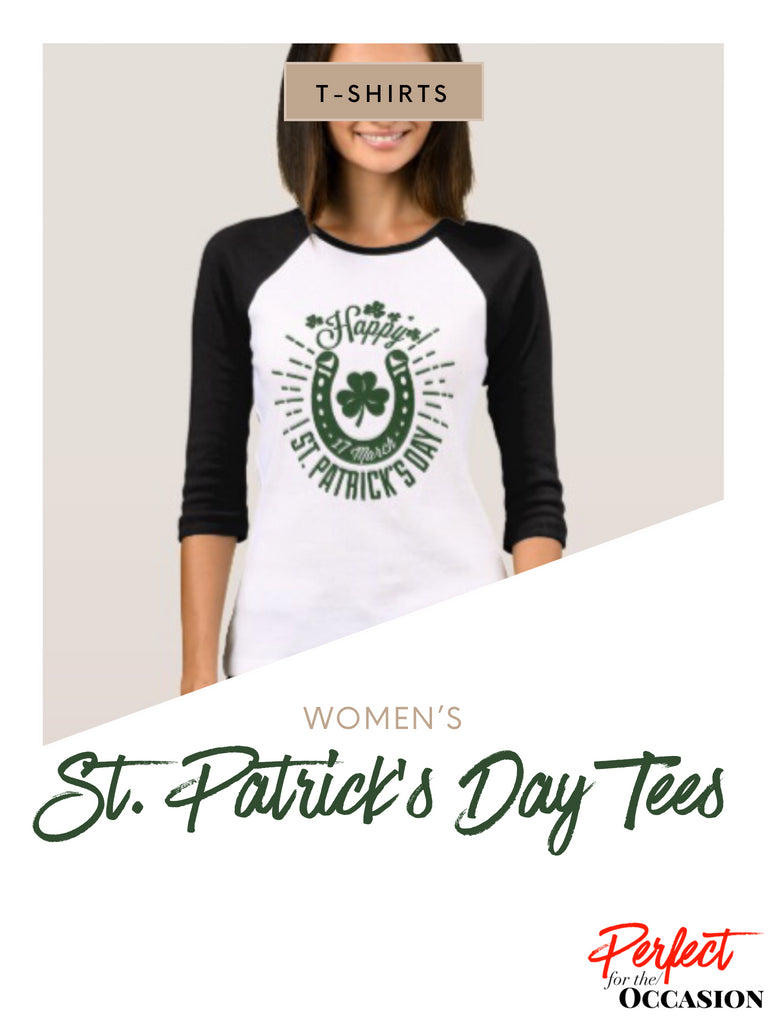 2018 St. Patrick's Day T-Shirts for Women