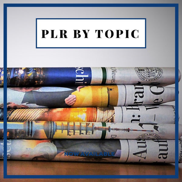 PLR by Topic