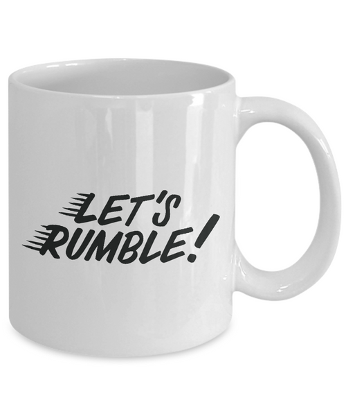 Let's Rumble Coffee Mug for Entrepreneurs