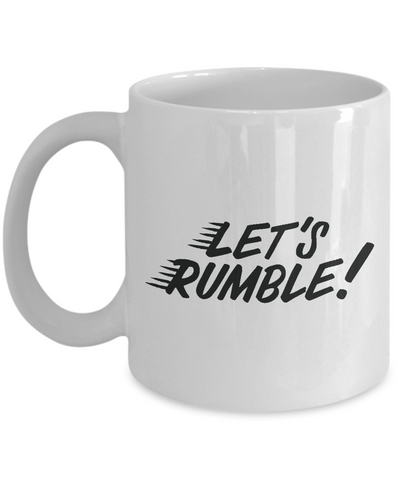 Let's Rumble Sports Mug