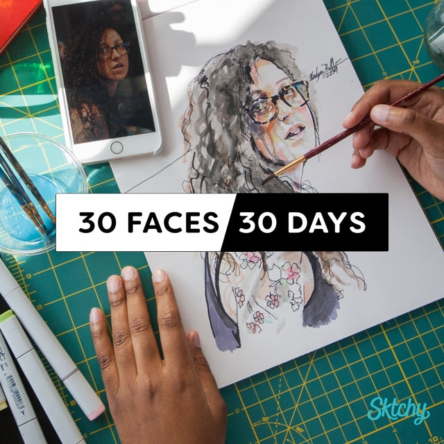 30 Faces / 30 Days - Starting January 1, 2018