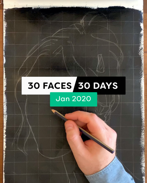 30 Faces/30 Days - January 2020