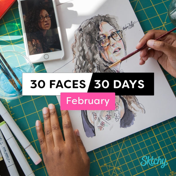 30 Faces / 30 Days - Starting February 5, 2018