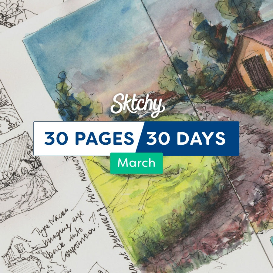 30 Pages / 30 Days - Starting March 1, 2018