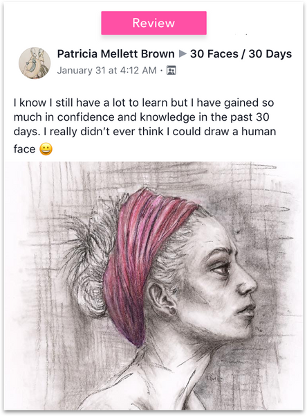 30 Faces / 30 Days - Starting March 15, 2018