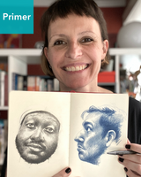 Drawing Faces with France - Primer