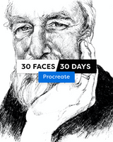 30 Faces/30 Days - Procreate