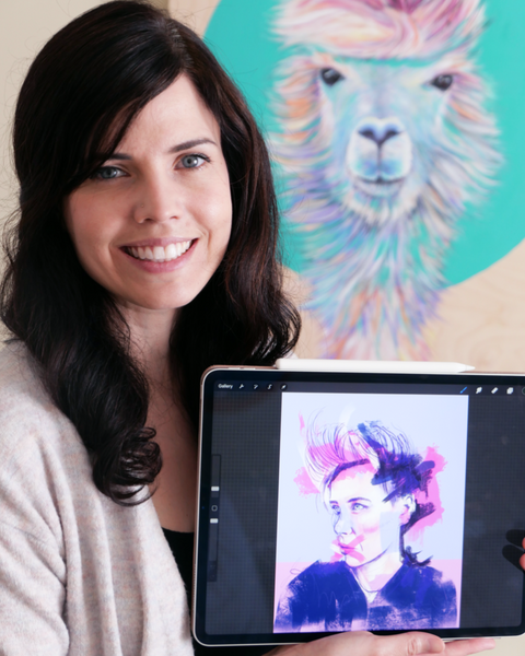 Portraits in Procreate: Color Fun with Lisa Filion