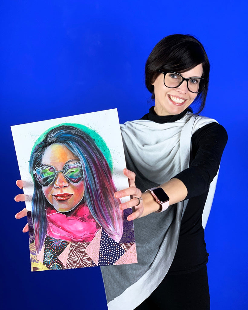 A Watercolor Portrait with Lisa Filion