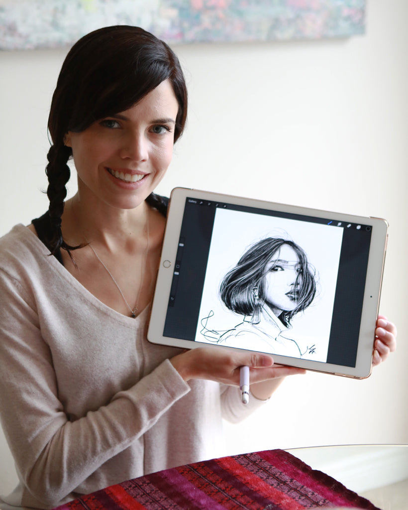 Portraits in Procreate: Mastering Media with Lisa Filion
