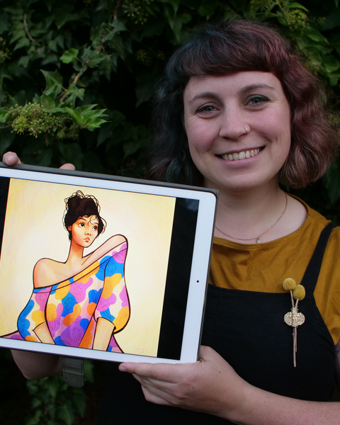 Portraits in Procreate with Sophie McPike